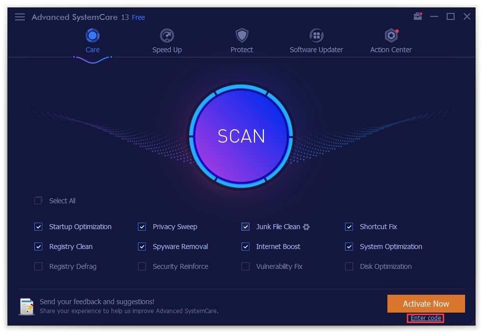Improved SystemCare Pro 12.4.0 aims not only to clean unwanted files, malware, and erroneous registry entries