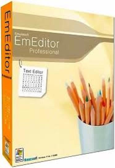 EmEditor Professional Crack 20.5.4 + Registration Key Full Download